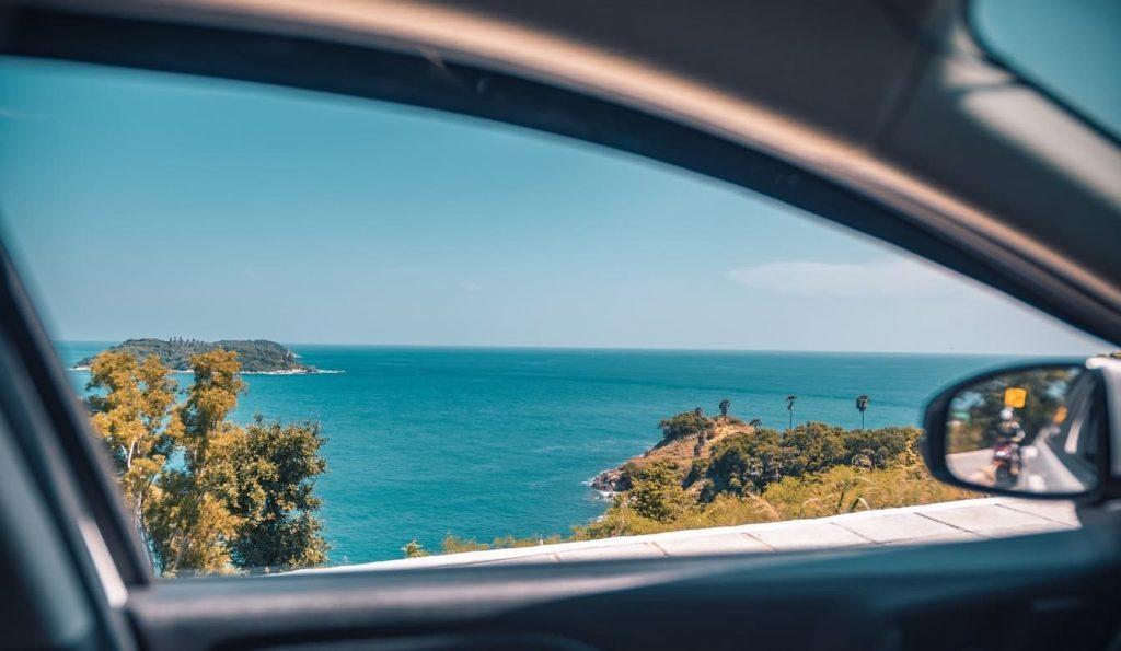 location de voiture à marie galante Bleu Location